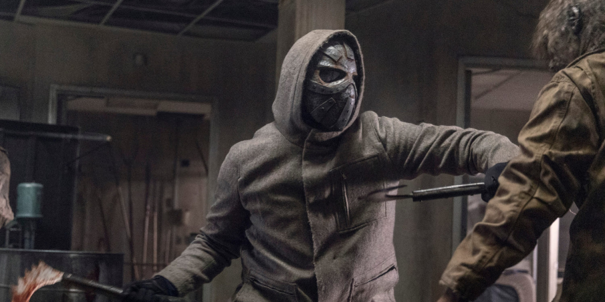 The masked man from The Walking Dead.