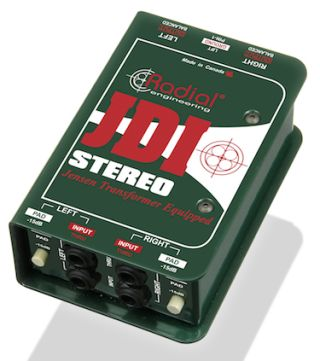 Radial Ships JDI Stereo Passive Direct Box