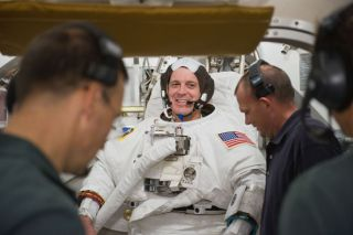 Spacewalk Set to Boost Space Station Power