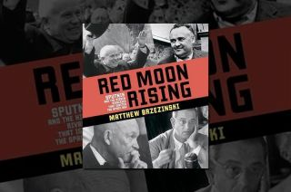 "Cover art for ""Red Moon Rising: Sputnik and the Hidden Rivalries That Ignited the Space Age"""