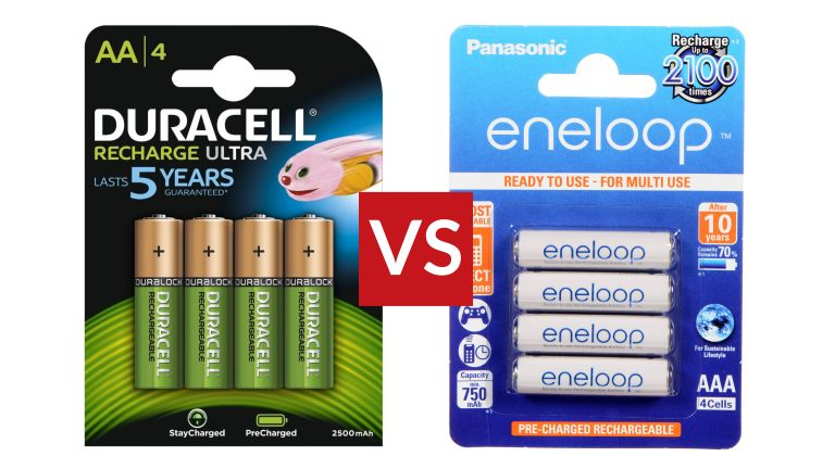 Panasonic Eneloop vs Duracell Rechargeable Ultra