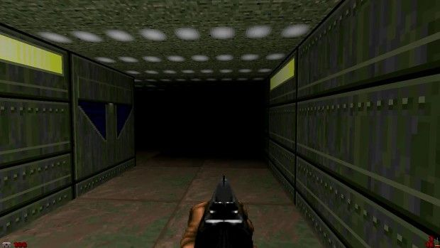 This Doom 2 mod turns off all the lights