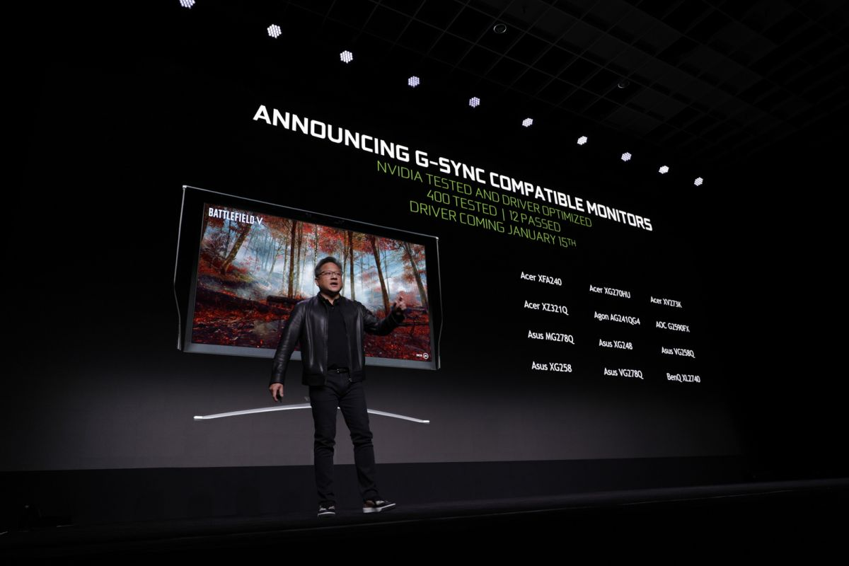 Nvidia brings G-Sync support to FreeSync monitors