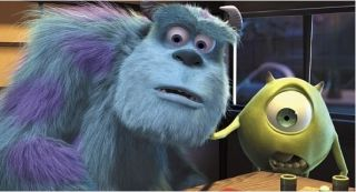 Still from the movie Monsters, Inc.