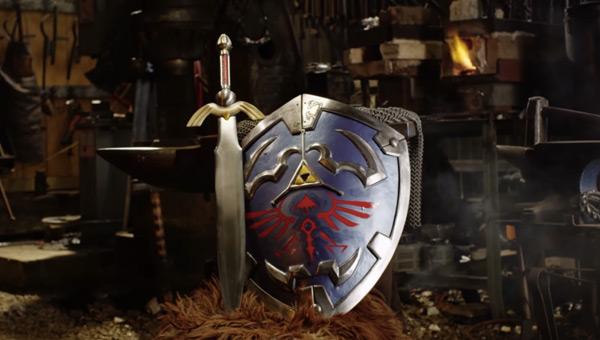 blacksmith recreates legend of zeldas hylian shield and