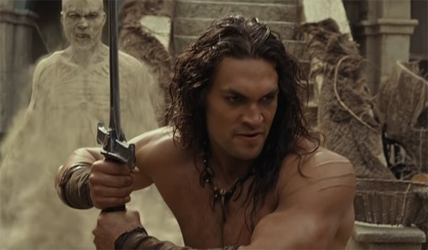 Conan the Barbarian in battle
