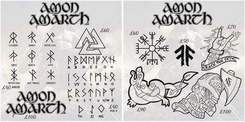 Tattoo amon amarth Heavy Metal