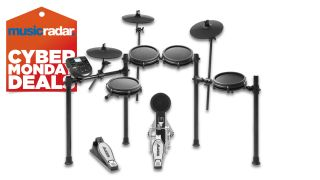 Save a cool $60 off the Alesis Nitro Mesh 8-piece beginner electronic drum set with this Cyber Monday steal