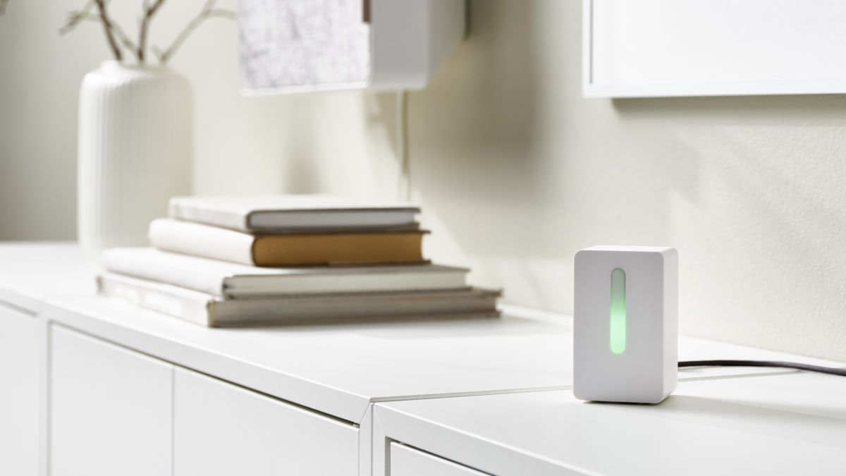IKEA has launched a new sensor that tests the air quality in your home