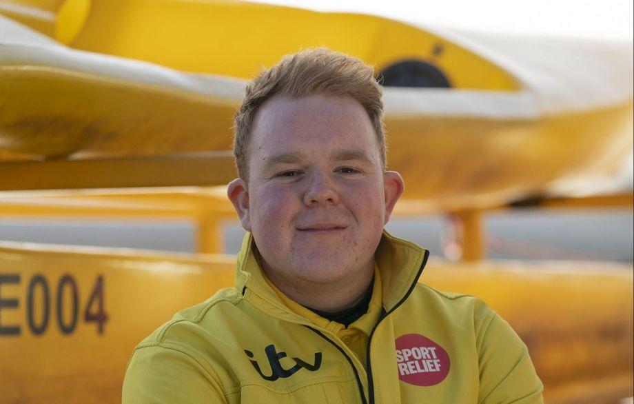 Colson Smith Sport Relief rowing