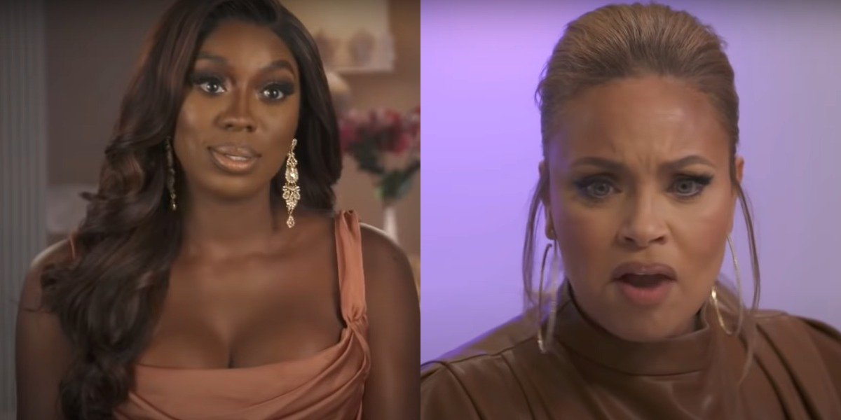 screenshot wendy osefo gizelle bryant real housewives of potomac