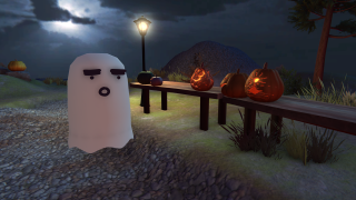 Mayor Bones Proudly Presents Ghost Town's 999th Annual Pumpkin Festival