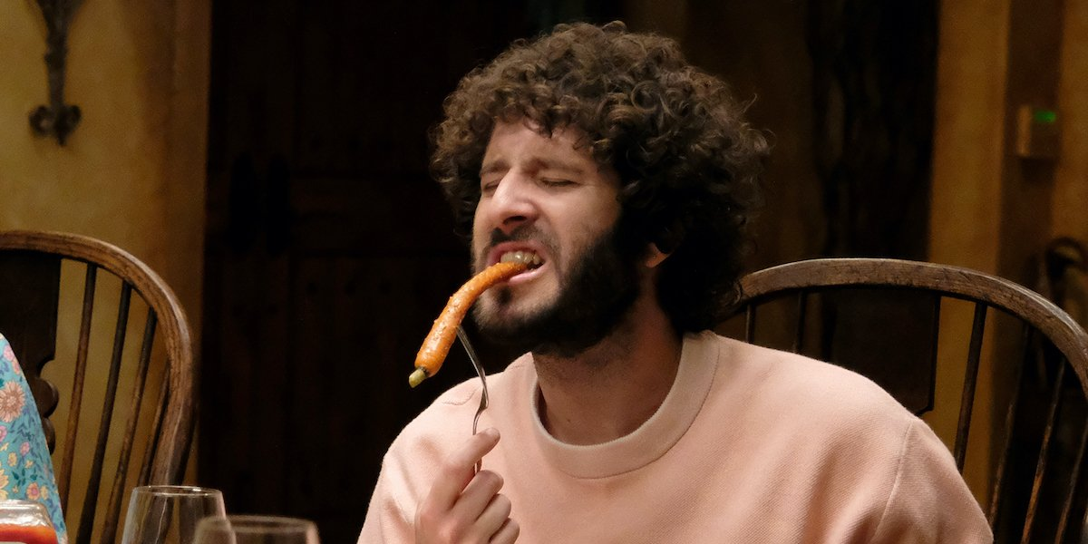 dave lil dicky eating carrots episode 9