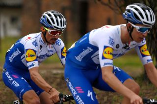 Deceuninck-QuickStep's Julian Alaphilippe at the 2020 Tour Colombia 2.1
