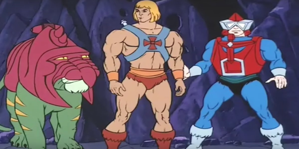 The He-Man cartoon series is also getting a new look