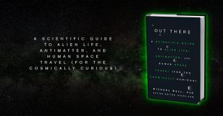 'Out There' Book Cover