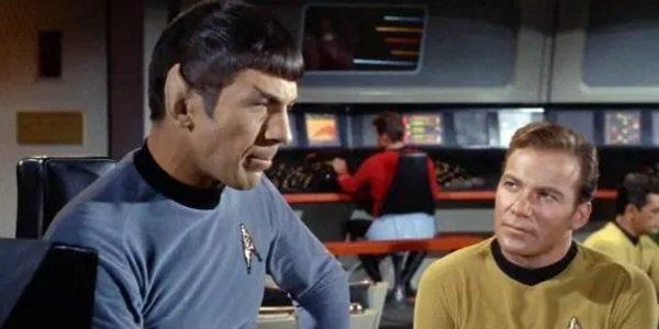 Star Trek Orignal Series Spock Kirk
