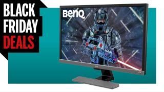 BenQ EL2870UE black friday 4K gaming monitor deal