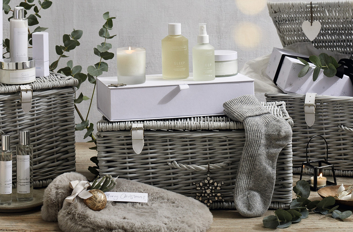 white company launches luxury christmas hampers