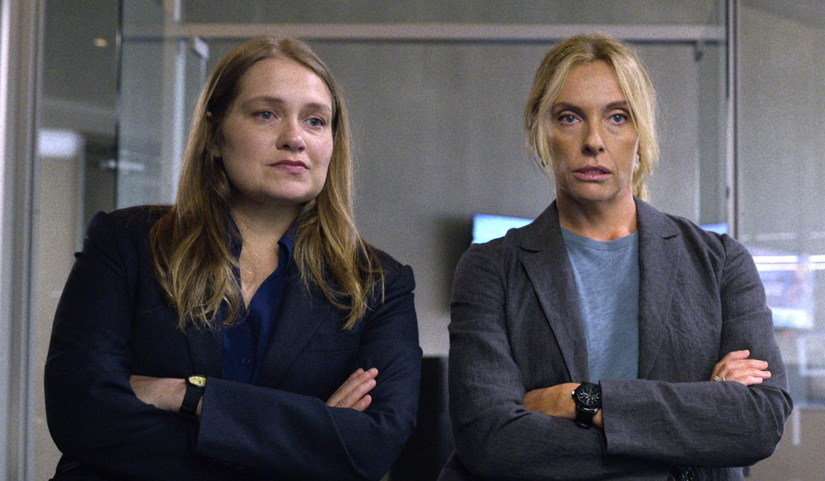 Unbelievable Merritt Wever and Toni Collette Netflix