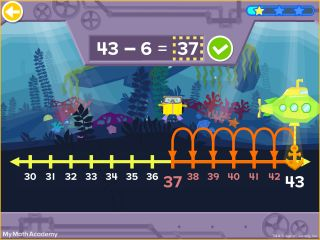 Age of Learning Scuba Game