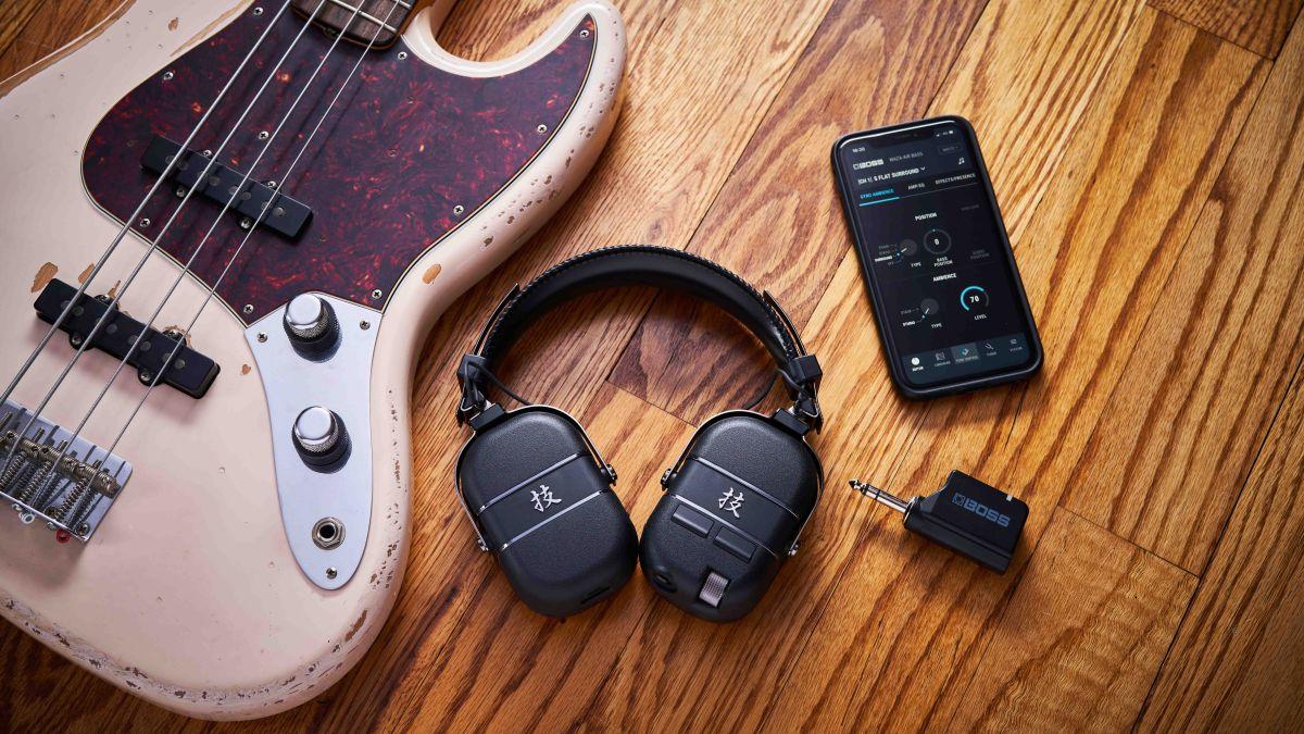 A practice gamechanger for bassists? Boss reveals Waza-Air Bass headphone amp