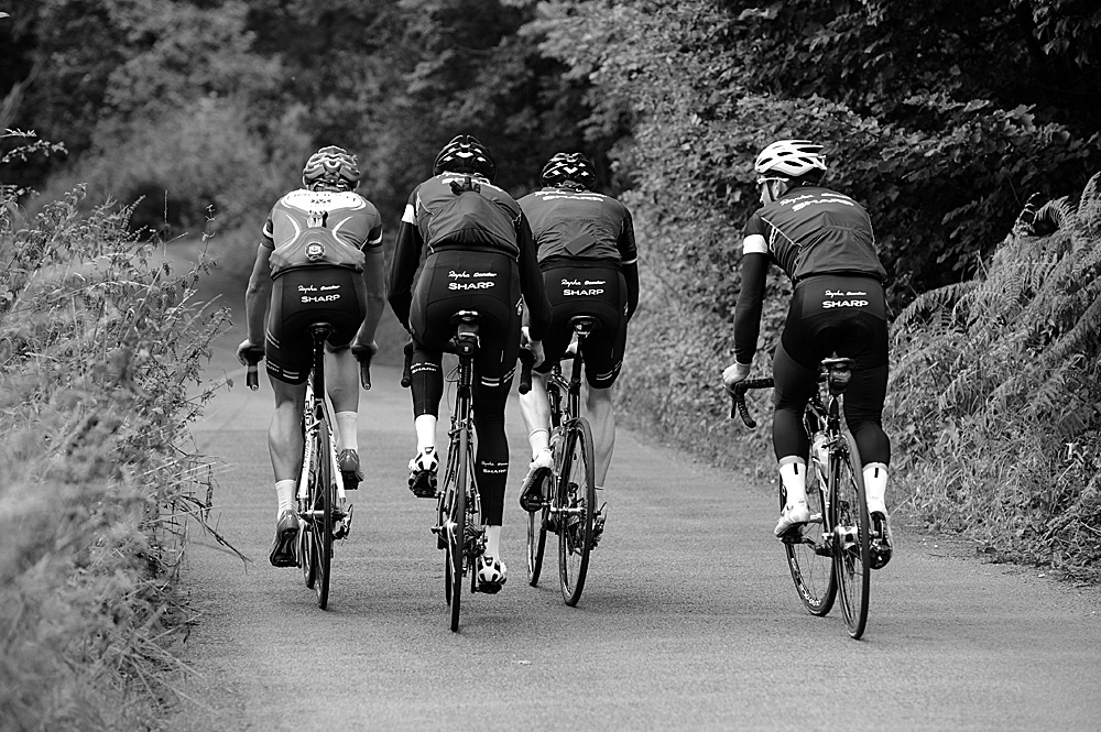 Thornhill, Rapha Condor Sharp training in Peak District, August 2011