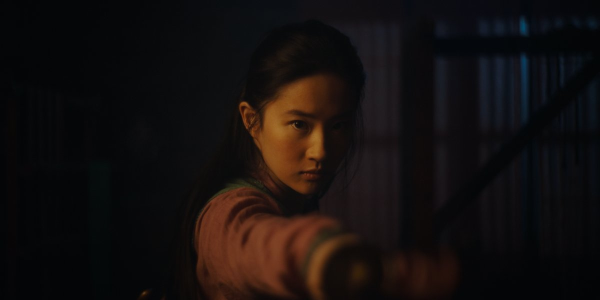 Yifei Liu as Mulan in the 2020 live-action remake