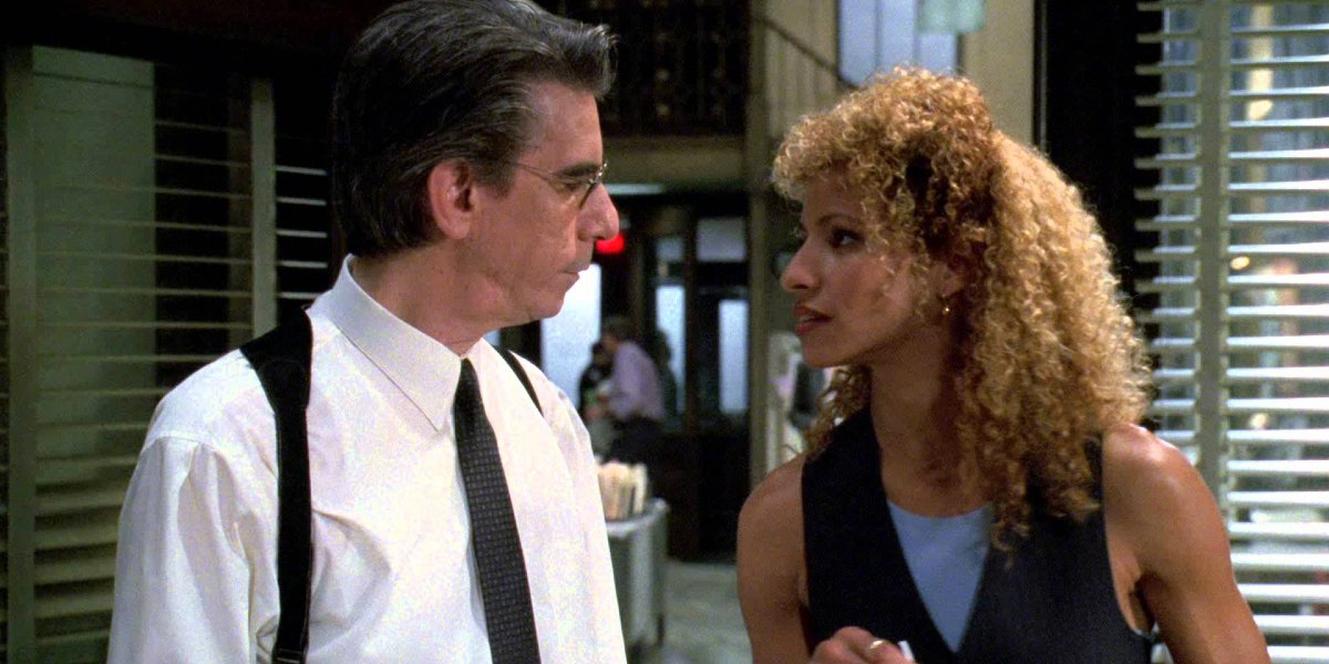 Richard Belzer and Michelle Hurd on Law and Order: SVU