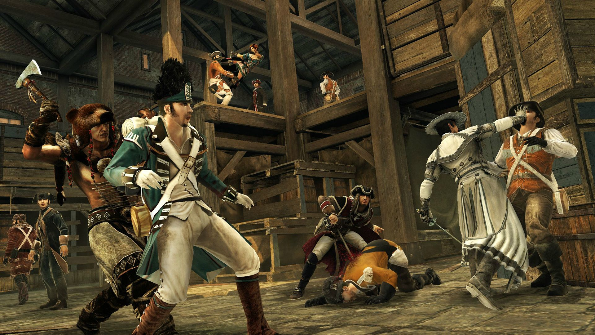 Assassin's Creed 3 Screenshots Travel Across The Colonies #24037