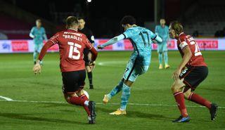 Lincoln City v Liverpool – Carabao Cup – Third Round – LNER Stadium