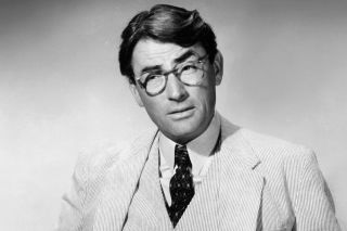 Atticus Finch, played by Gregory Peck