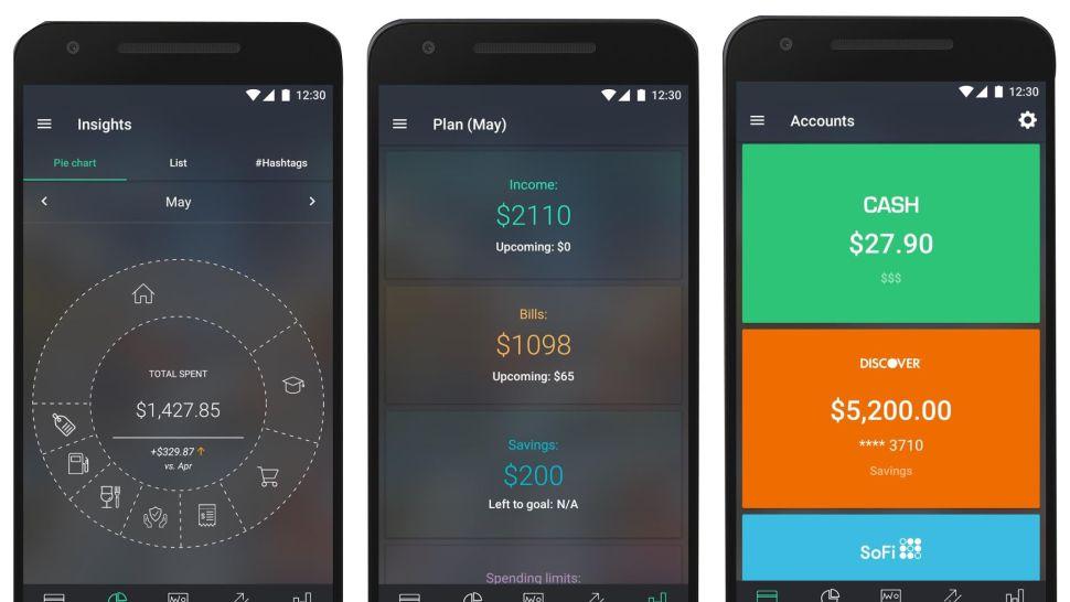 PocketGuard Interface