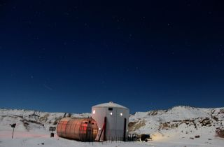The Mars Society's Mars Desert Research Station near Hanksville, Utah, has been a base for many simulated missions to the Red Planet.