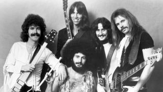 Sib Hashian, front centre, with Boston
