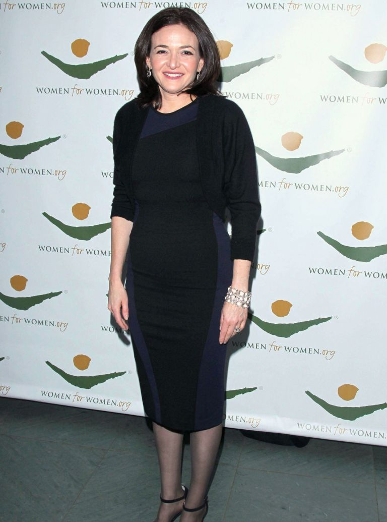 Sheryl Sandberg Facebook photo