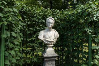 A bust of Emperor Nero in St. Petersburg, Russia.