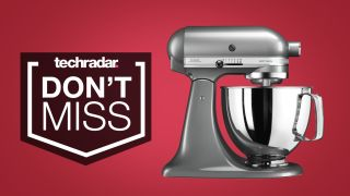 Black Friday Bake Off This Deal Cuts 220 Off The Kitchenaid Stand Mixer Used In The Tent Techradar