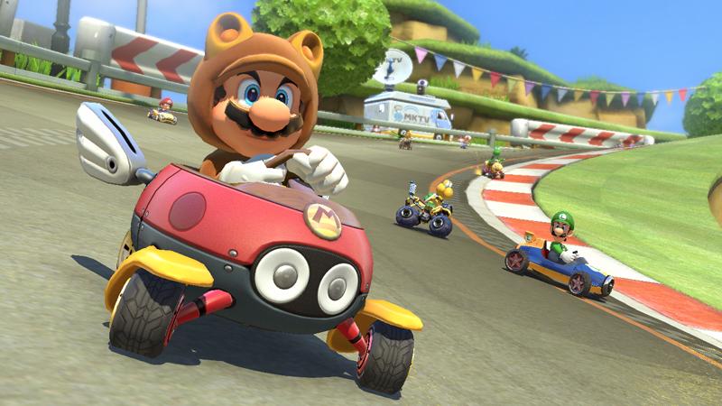 Mario Kart 8 DLC Screenshots Reveal New Characters, Tracks #31827