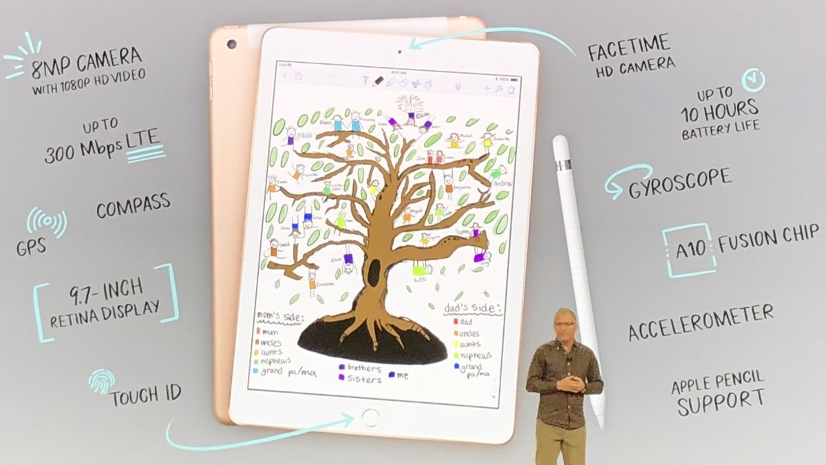 iPad 2018 now available in the UAE