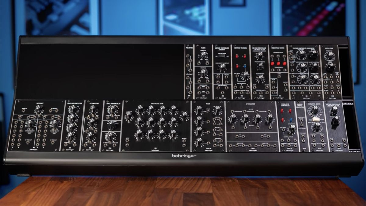 NAMM 2020: Now Behringer is cloning Moog's 55, 35 and 15 modules from the '70s