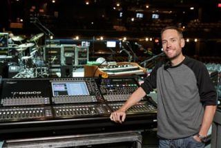 DiGiCo SD10 Tames Mega Monitor Mixes On Frampton's Tour