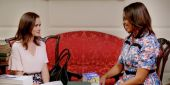 Watch Rory Gilmore And Michelle Obama Talk About Books And Poptarts