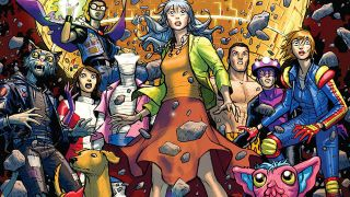 Gerard Way returns to Doom Patrol for Weight of the Worlds, but leans too much into the quirks