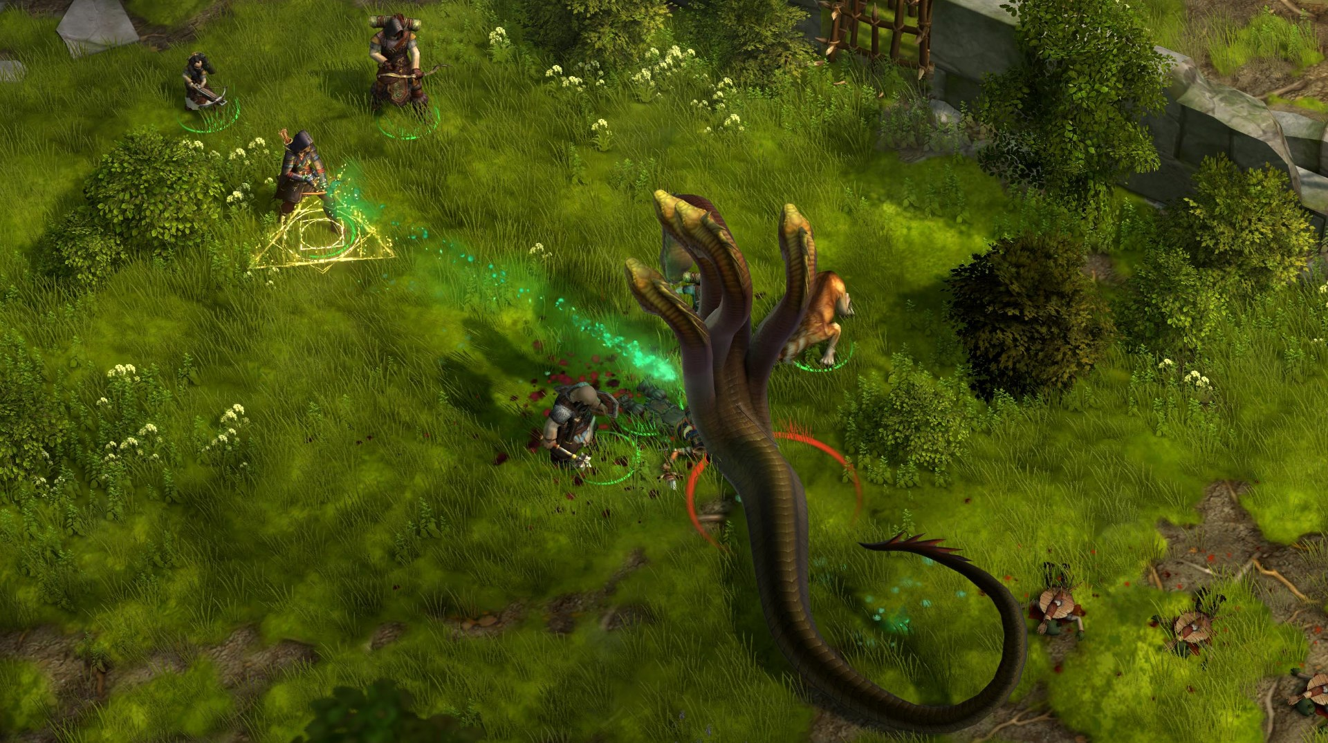 Isometric RPG Pathfinder: Kingmaker is coming this year