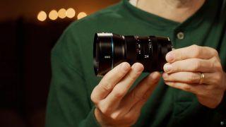 SIRUI 24mm anamorphic lens