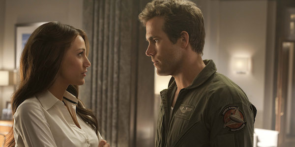 Ryan Reynolds and Blake Lively in Green Lantern