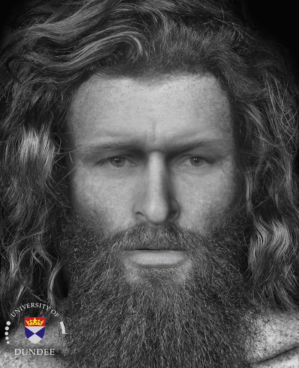 This May Be the Face of a Pictish Chieftain Who Was Brutally Murdered 1,400 Years Ago