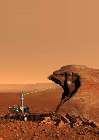 Curiosity Mars ChemCam
