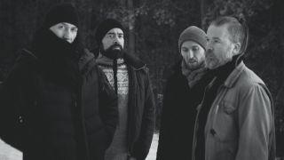 Ulver (left to right): Tore Ylwizaker, Kristoffer Rygg, Ole Alexander Halstensgård , Jørn H. Sværen